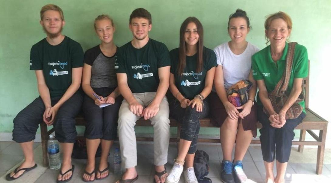 Casper P i Cambodja